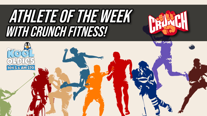 Athlete of the Week with Crunch Fitness!