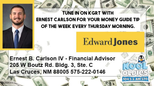 Edward Jones – money guide tip of the week